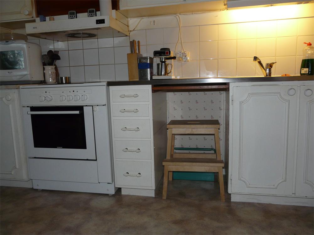 Retro Koksflakt : ny koksflokt  Vi gor om koket, fron tak till golvet, medallt vad